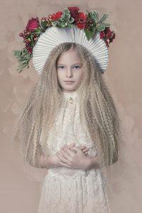 Little porcelain doll a